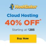 cheap cloud hosting India 40% discount
