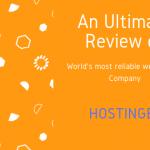 An Ultimate Hostinger Review on Hosting plans