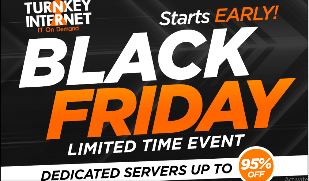 Up to 95% Off - Black Friday Deals 2018 - Turnkey Internet
