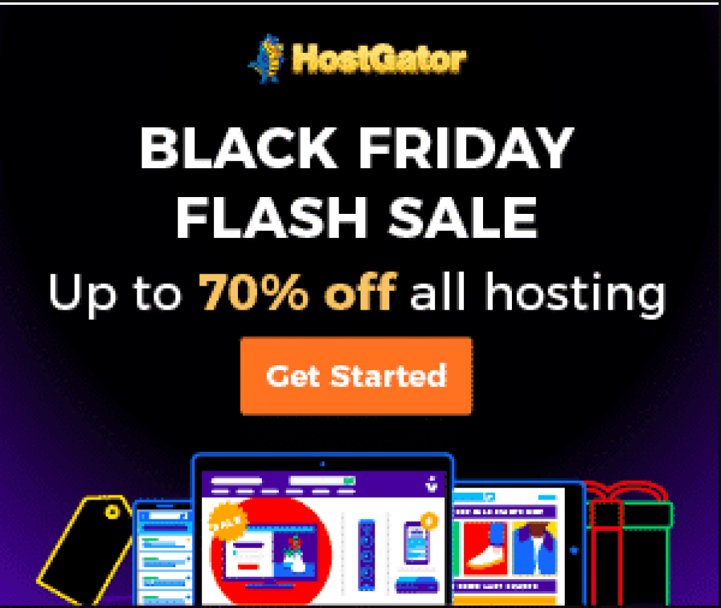 black Friday hostgator deals 2018