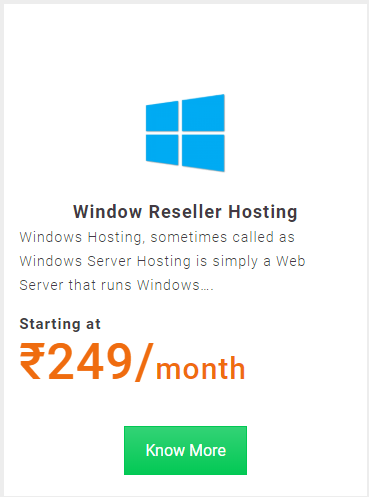 Hapih Host Best Windows Reseller Hosting