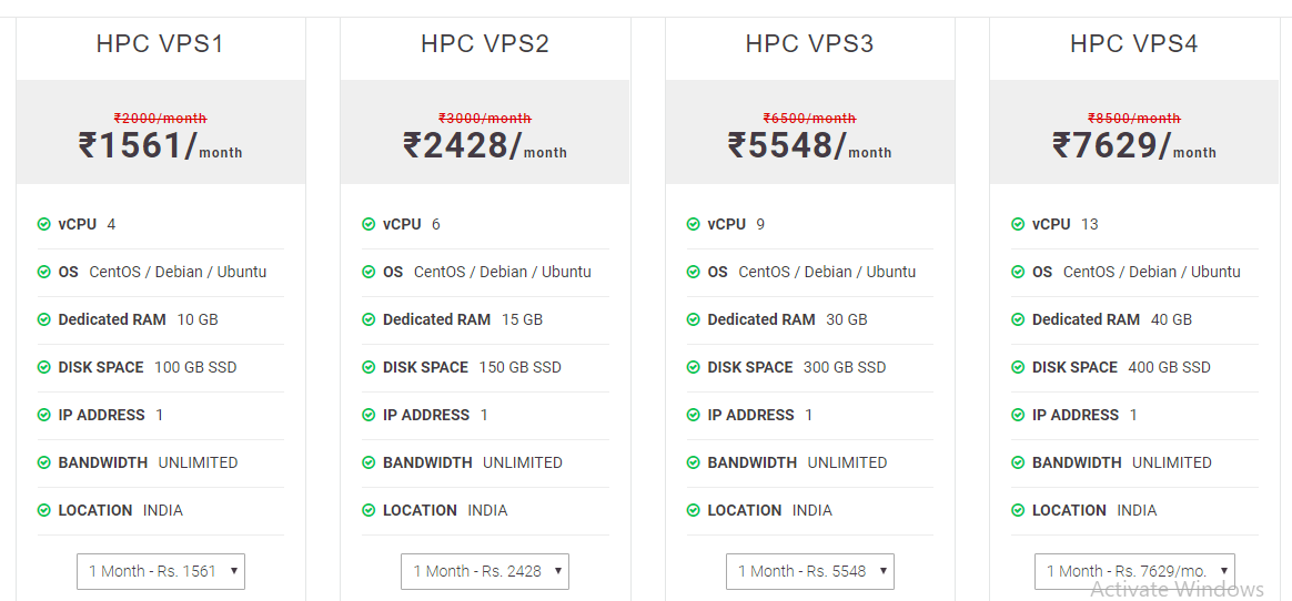 Hapih Host cloud Hosting India