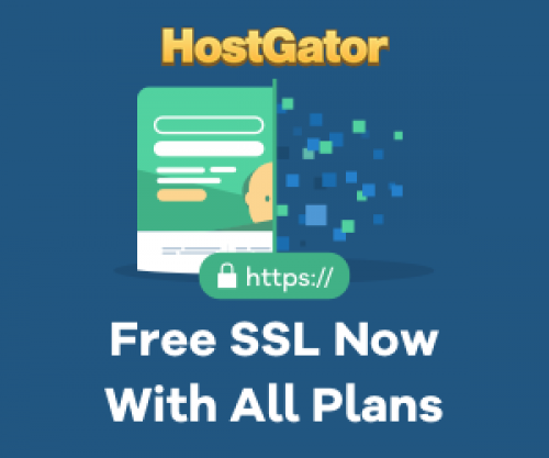 hostgator | free ssl certificate offer with all hosting plan 2018 |